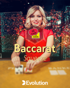 Baccarat Squeeze  logo review