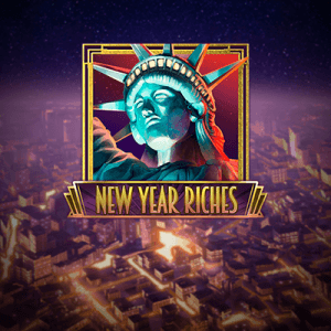 New Year Riches  logo review