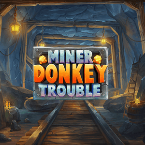 Miner Donkey Trouble  logo review