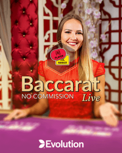 No Commission Baccarat  logo review