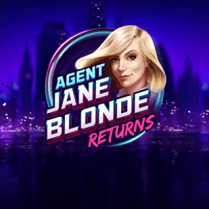 Agent Jane Blonde Returns  logo review