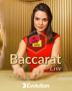 Live Baccarat  logo review