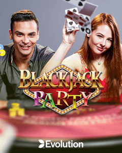Blackjack Party side logo review
