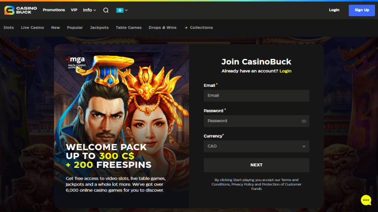 Casino Buck Screenshot 1