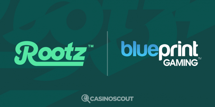 Blueprint Gaming signs deal with Rootz platform