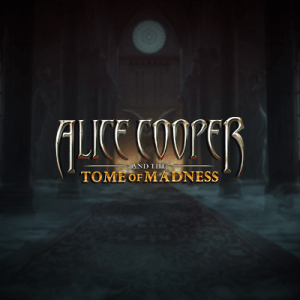 Alice Cooper Tome of Madness  logo review